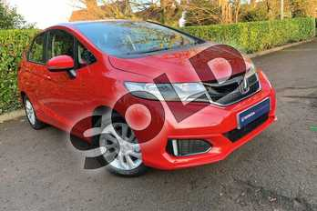 Honda Jazz 1.3 SE 5dr in Milano Red at Listers Honda Coventry