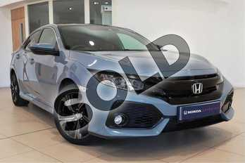 Honda Civic 1.0 VTEC Turbo EX 5dr in Sonic Grey at Listers Honda Solihull