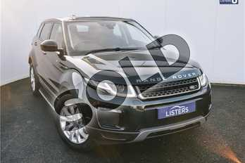 Range Rover Evoque 2.0 TD4 SE Tech 5dr Auto in Metallic - Aintree green at Listers U Solihull