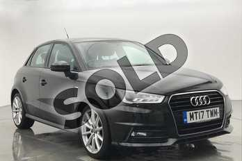 Audi A1 1.4 TFSI S Line 5dr in Myth Black Metallic at Worcester Audi