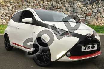 Toyota AYGO 1.0 VVT-i X-Press 5dr in White at Listers Toyota Coventry