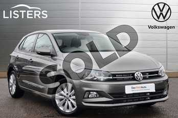 Volkswagen Polo 1.0 TSI 115 SEL 5dr in Limestone Grey at Listers Volkswagen Leamington Spa
