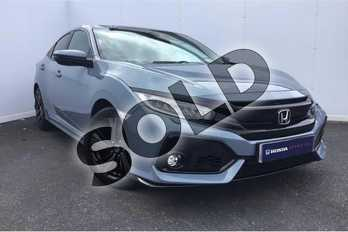 Honda Civic 1.5 VTEC Turbo Sport 5dr in Grey at Listers Honda Stratford-upon-Avon