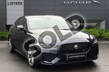 Jaguar XE 2.0 R-Dynamic S 4dr Auto in Portofino Blue at Listers Jaguar Droitwich