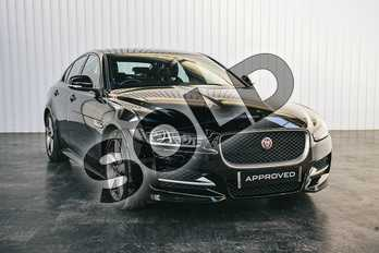 Jaguar XE 2.0d (180) R-Sport 4dr Auto in Narvik Black at Listers Jaguar Solihull