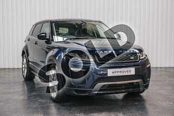 Range Rover Evoque Diesel 2.0 TD4 HSE Dynamic 5dr in Loire Blue at Listers Land Rover Solihull