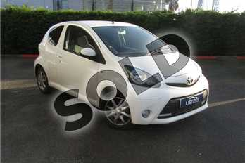 Toyota AYGO 1.0 VVT-i Mode 3dr in Solid - Cirrus white at Listers U Boston