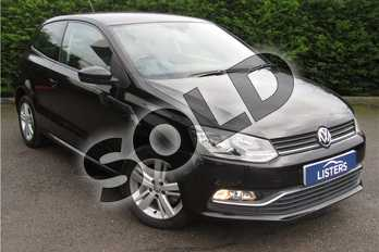 Volkswagen Polo 1.2 TSI Match Edition 3dr in Solid - Black at Listers U Boston