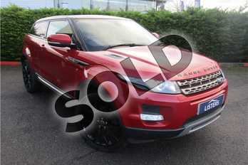 Range Rover Evoque Diesel 2.2 SD4 Pure 3dr (Tech Pack) in Metallic - Firenze red at Listers U Boston