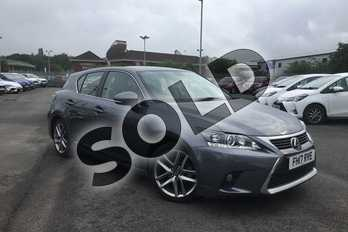 Lexus CT 200h 1.8 Executive Edition 5dr CVT Auto in Grey at Listers Toyota Nuneaton