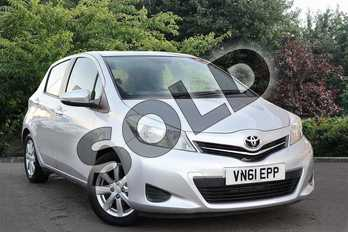 Toyota Yaris 1.33 VVT-i TR 5dr in Silver at Listers Toyota Nuneaton