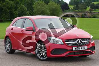 Mercedes-Benz A Class Diesel A180d AMG Line 5dr in Jupiter Red at Mercedes-Benz of Boston