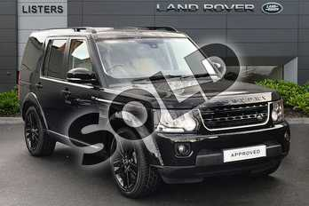 Land Rover Discovery 3.0 SDV6 HSE Luxury 5dr Auto in Santorini Black at Listers Land Rover Droitwich