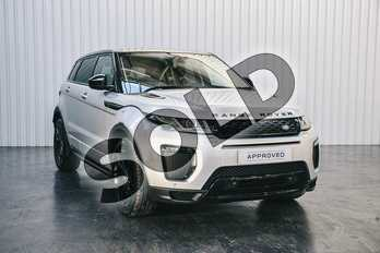 Range Rover Evoque Diesel 2.0 TD4 HSE Dynamic 5dr Auto in Indus Silver at Listers Land Rover Solihull