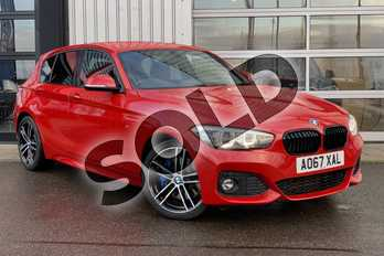 BMW 1 Series 118d M Sport Shadow Ed 5dr Step Auto in Melbourne Red metallic at Listers King's Lynn (BMW)