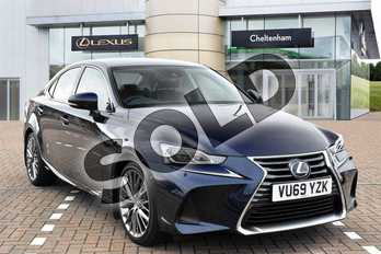 Lexus IS 300h 4dr CVT Auto in Deep Blue at Lexus Cheltenham