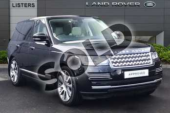 Range Rover Diesel 4.4 SDV8 Vogue SE 4dr Auto in Santorini Black at Listers Land Rover Droitwich
