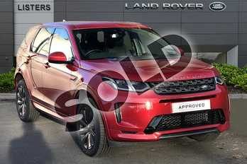 Land Rover Discovery Sport Diesel SW 2.0 D180 R-Dynamic SE 5dr Auto in Firenze Red at Listers Land Rover Droitwich