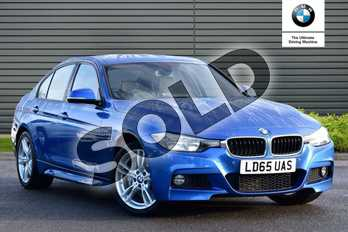 BMW 3 Series Diesel 335d xDrive M Sport 4dr Step Auto in Estoril Blue at Listers Boston (BMW)