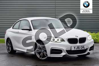 BMW 2 Series M235i 2dr Step Auto in Mineral White at Listers Boston (BMW)