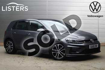 Volkswagen Golf 2.0 TDI R-Line 5dr DSG in Indium Grey at Listers Volkswagen Loughborough
