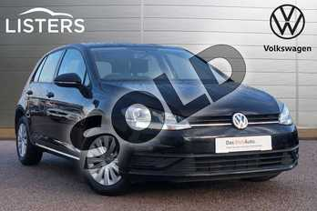 Volkswagen Golf 1.0 TSI S 5dr in Deep black at Listers Volkswagen Loughborough