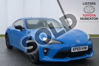 Toyota GT86 2.0 D-4S Blue Edition 2dr (Performance Pack) in Blue at Listers Toyota Nuneaton
