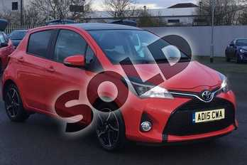 Toyota Yaris 1.33 VVT-i Sport 5dr in Red at Listers Toyota Lincoln