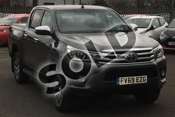 Toyota Hilux Invincible D/Cab Pick Up 2.4 D-4D Auto in Grey at Listers Toyota Lincoln