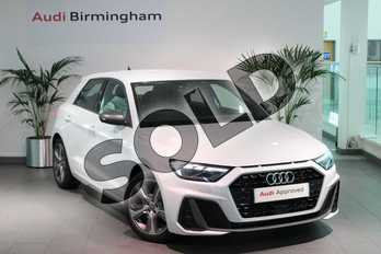 Audi A1 40 TFSI S Line Competition 5dr S Tronic in Glacier White Metallic at Coventry Audi