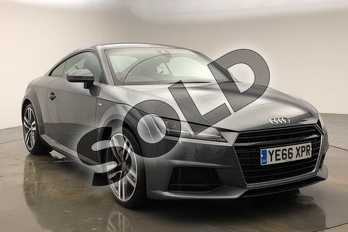 Audi TT 2.0T FSI S Line 2dr S Tronic in Daytona Grey Pearlescent at Worcester Audi