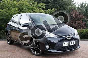 Toyota Yaris 1.33 VVT-i Sport 5dr in Black at Listers Toyota Stratford-upon-Avon