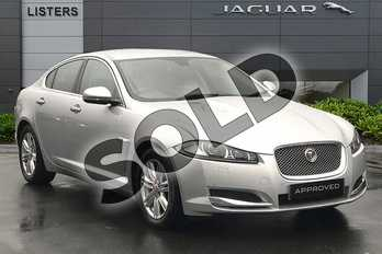 Jaguar XF 2.2d (163) Premium Luxury 4dr Auto in Rhodium Silver at Listers Jaguar Droitwich