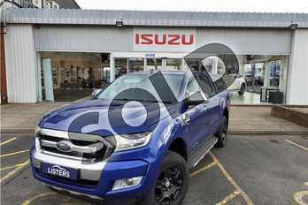 Ford Ranger Pick Up Double Cab Limited 2 3.2 TDCi 200 Auto in Metallic - Performance blue at Listers Isuzu Worcester