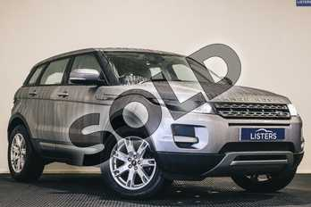 Range Rover Evoque 2.2 eD4 Pure 5dr 2WD in Metallic - Corris grey at Listers U Stratford-upon-Avon