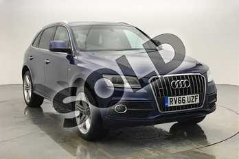Audi Q5 Special Editions 2.0 TDI (190) Quattro S Line Plus 5dr S Tronic in Scuba Blue Metallic at Coventry Audi