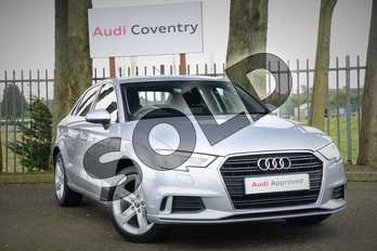 Audi A3 1.4 TFSI Sport 4dr in Floret Silver Metallic at Coventry Audi