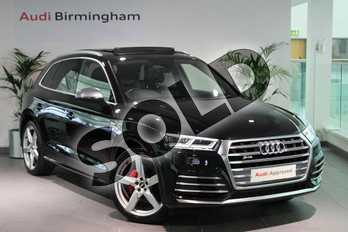 Audi Q5 SQ5 Quattro 5dr Tip Auto in Myth Black Metallic at Worcester Audi