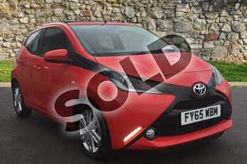 Toyota AYGO 1.0 VVT-i X-Pression 5dr in Red Pop at Listers Toyota Grantham
