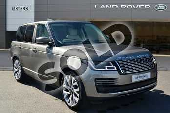 Range Rover 2.0 P400e Vogue 4dr Auto in Silicon Silver at Listers Land Rover Hereford