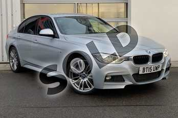 BMW 3 Series Diesel 330d xDrive M Sport 4dr Step Auto (Business Media) in Glacier Silver at Listers King's Lynn (BMW)