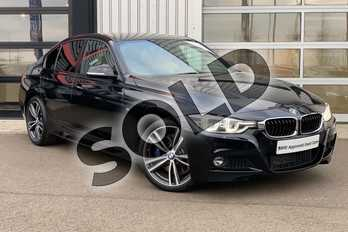 BMW 3 Series Diesel 335d xDrive M Sport 4dr Step Auto in Black Sapphire metallic paint at Listers King's Lynn (BMW)
