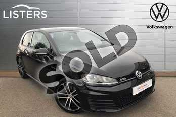 Volkswagen Golf 2.0 TDI GTD 3dr in Flat Black at Listers Volkswagen Worcester