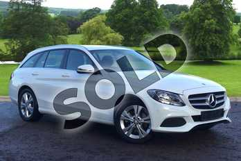 Mercedes-Benz C Class Diesel C220d SE Executive Edition 5dr Auto in Polar White at Mercedes-Benz of Grimsby