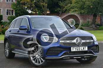 Mercedes-Benz GLC GLC 220d 4Matic AMG Line Premium 5dr 9G-Tronic in brilliant blue metallic at Mercedes-Benz of Lincoln