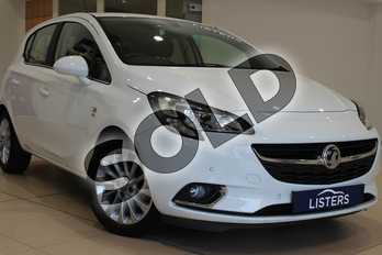 Vauxhall Corsa 1.4 SE 5dr Auto in Special paint - Brilliant Summit white at Listers U Northampton