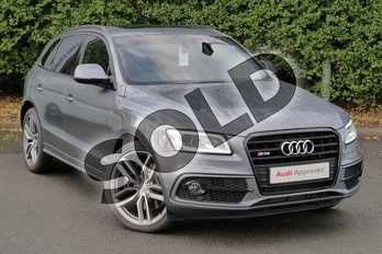Audi Q5 Diesel SQ5 Quattro 5dr Tip Auto in Monsoon Grey Metallic at Worcester Audi