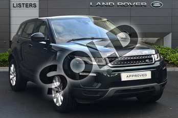 Range Rover Evoque 2.0 TD4 SE Tech 5dr Auto in Aintree Green at Listers Land Rover Droitwich