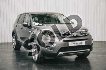 Land Rover Discovery Sport Diesel SW 2.0 TD4 180 HSE Luxury 5dr Auto in Corris Grey at Listers Land Rover Solihull