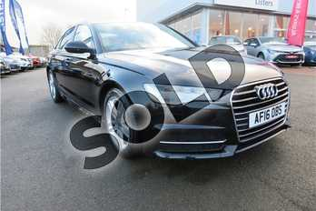 Audi A6 2.0 TDI Ultra S Line 4dr S Tronic in Metallic - Havanna black at Listers Toyota Grantham